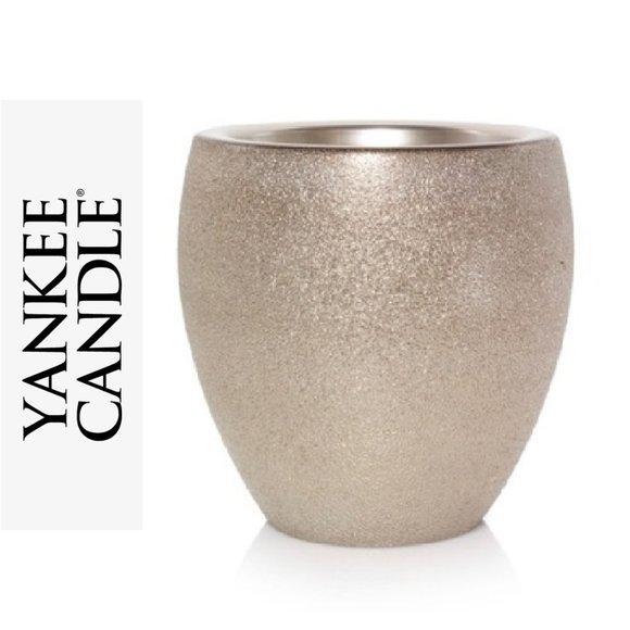 🕯YANKEE CANDLE *NWT* Scenterpiece Wax Warmer Gold